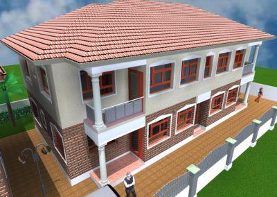 2 bed-4 flats- ABUJA NIGERIA
